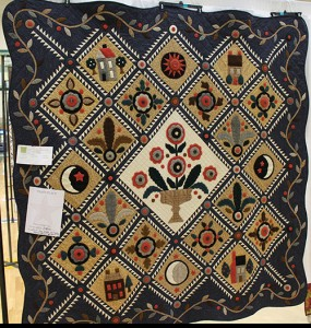 Quilt Show 2015 Viewers Choice Third Place