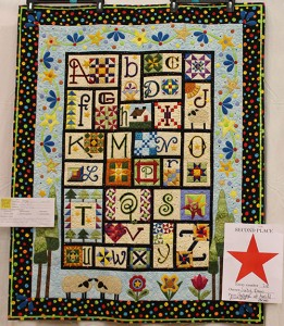 Quilt Show 2015 Viewers Choice Second Place
