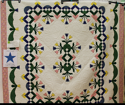 Quilt Show 2015 Viewers Choice First Place